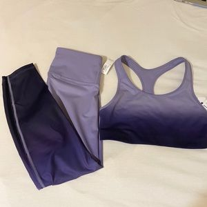 NWT purple ombré Old Navy active wear!
